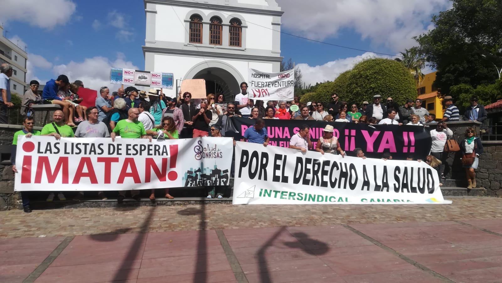 Fuerteventura vuelve a pelear por la sanidad