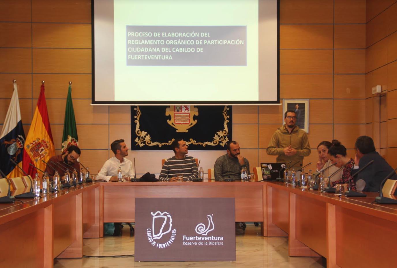 Fuerteventura recoge propuestas para la elaboración del Reglamento Orgánico de Participación Ciudadana