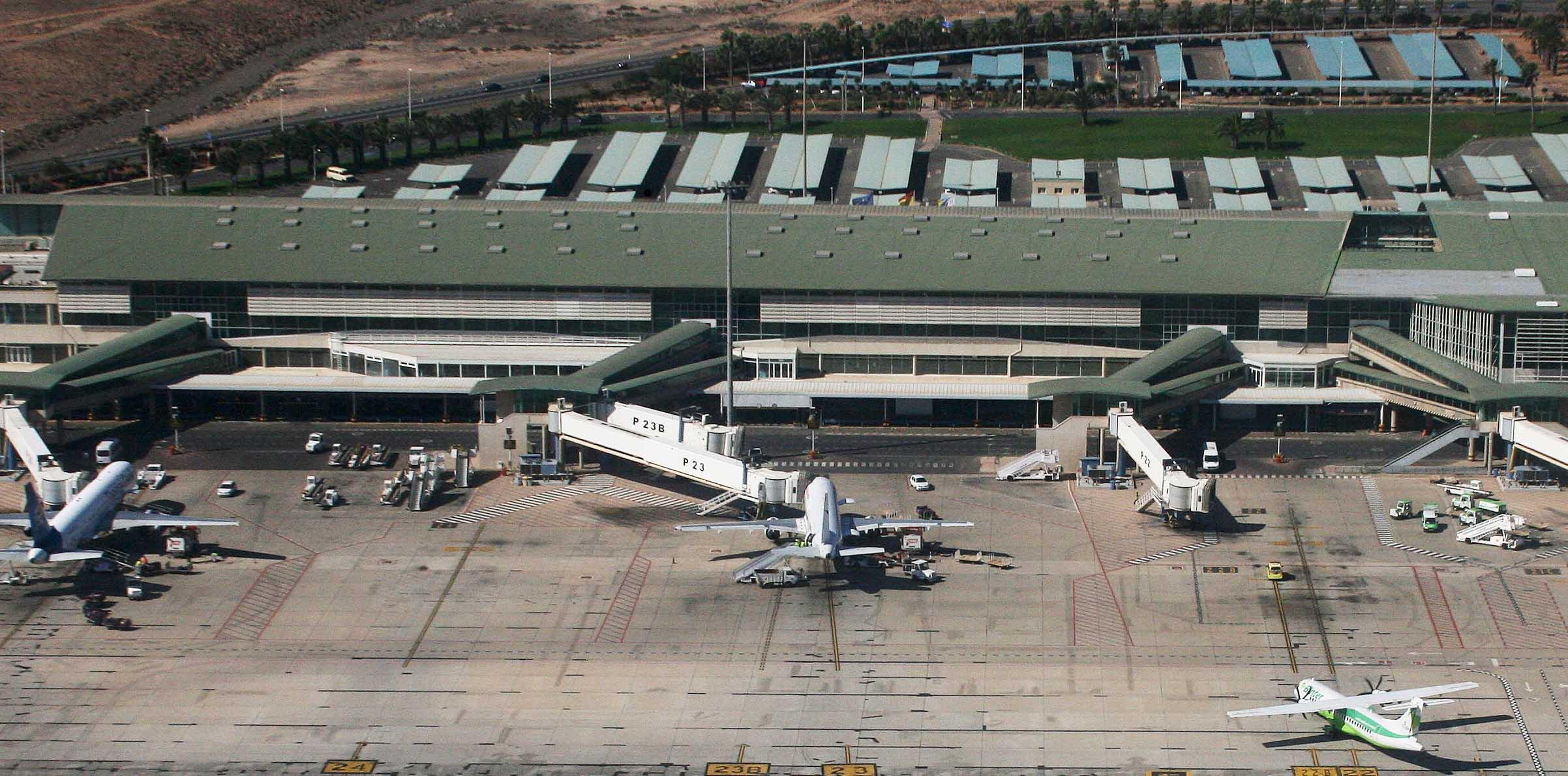 Se pierden 39 vuelos Fuerteventura la última semana de enero