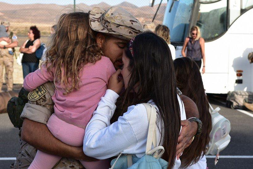 Regresa a la isla los primeros componentes del contingente de la misión de apoyo a Irak